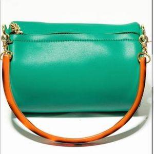 Lele Sadoughi Charlie bag with Tortoise ha…